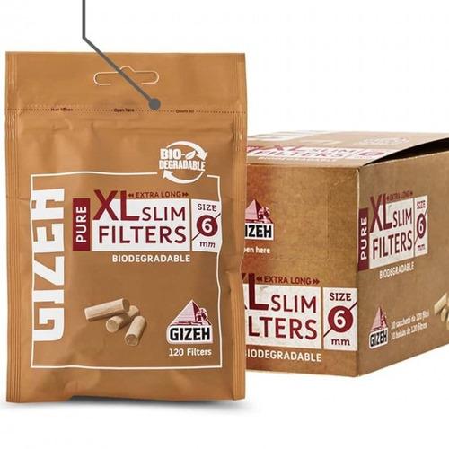 filtros pure slim gizeh pack x600 armar cigarrillos ryo gize