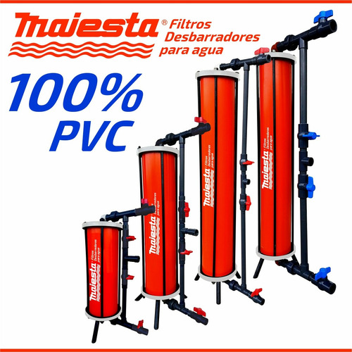 filtros purificadores para llenado de botellones 100lts/min
