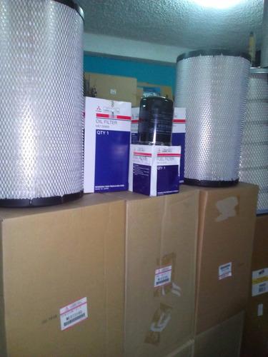 filtros repuestos para camiones mitsubishi fm fv canter