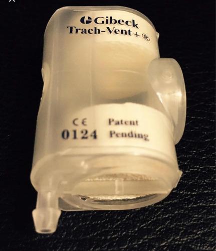 filtros traqueostomia hme con conexión a oxígeno