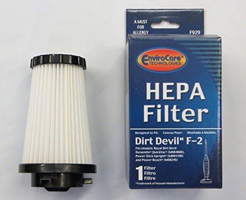 filtros verticales,dirt devil f2 filtro 2 pack..