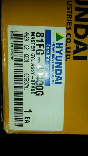 filtros y repuestos para maquinaria hyundai