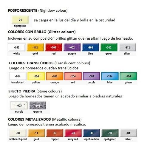 fimo soft effect arcilla polimérica artesano colores pack x6