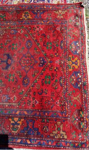 fina antigua   alfombra  persa 220 x 125 cmsd