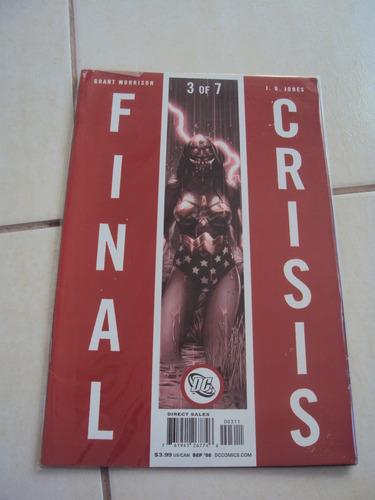 final crisis - 3 de 7 - importada
