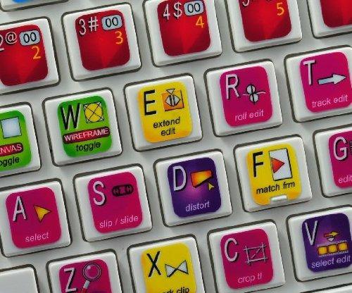 final cut calcomanias para edicion con teclado de apple mac