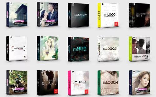 final cut pro x proyectos editables transiciones logos anima