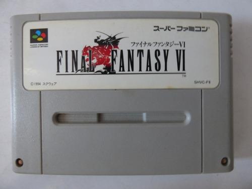final fantasy 6 super famicom sfc zonagamz japon
