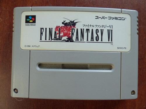final fantasy 6 super famicom zonagamz japon