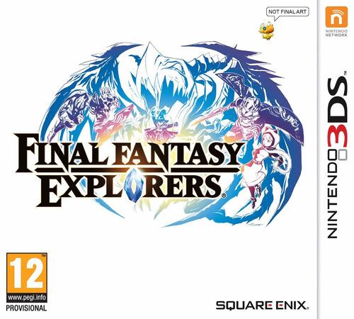 final fantasy explorers 3ds acepto cambios gxa