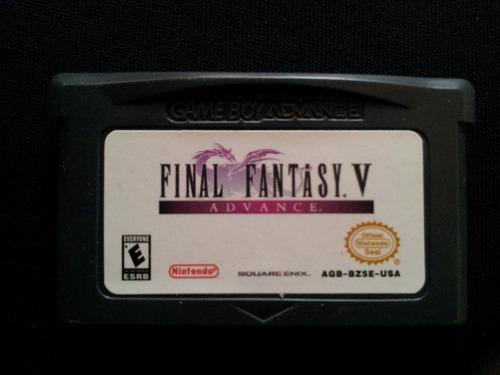 final fantasy iv para gba y muchos más