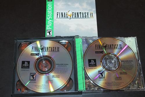final fantasy ix 9 para playstation 1 y ps 2. completo.