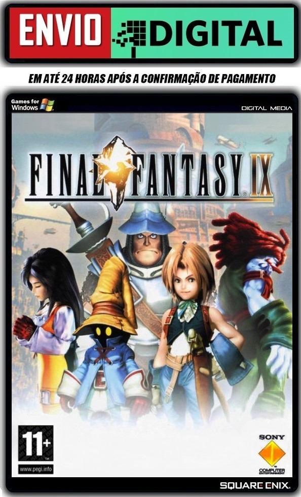 Final Fantasy Ix (9) - Pc - Envio Digital