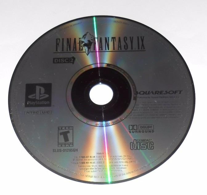Final Fantasy Ix Disco 2 Greatest Hits Original Ps1 Cr $15
