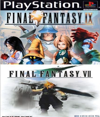 final fantasy ix + final fantasy vii ps3