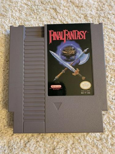 final fantasy - juego original nintendo nes