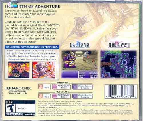 final fantasy origins --- nuevo