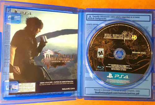 final fantasy type 0 hd para ps4 day one edition