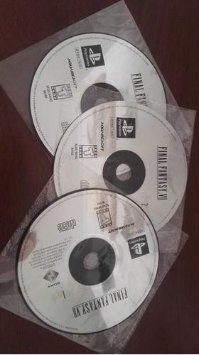 final fantasy vii 7 ps1 psone cd original