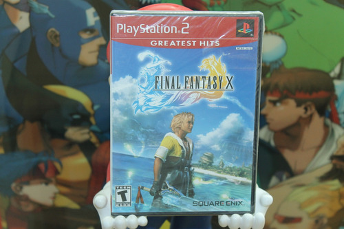 final fantasy x 10 para playstation 2. nuevo. esquare enix