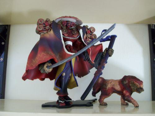 final fantasy x - jo yin bou - figure # 2 (artfx)
