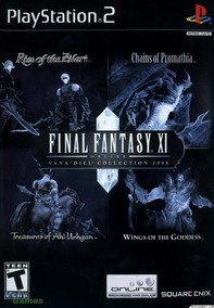 Final Fantasy Xi Online: Vanadiel Collection 2008 Ps2