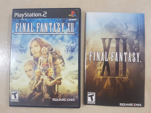 final fantasy xii + guia oficial ps2 - precio negociable