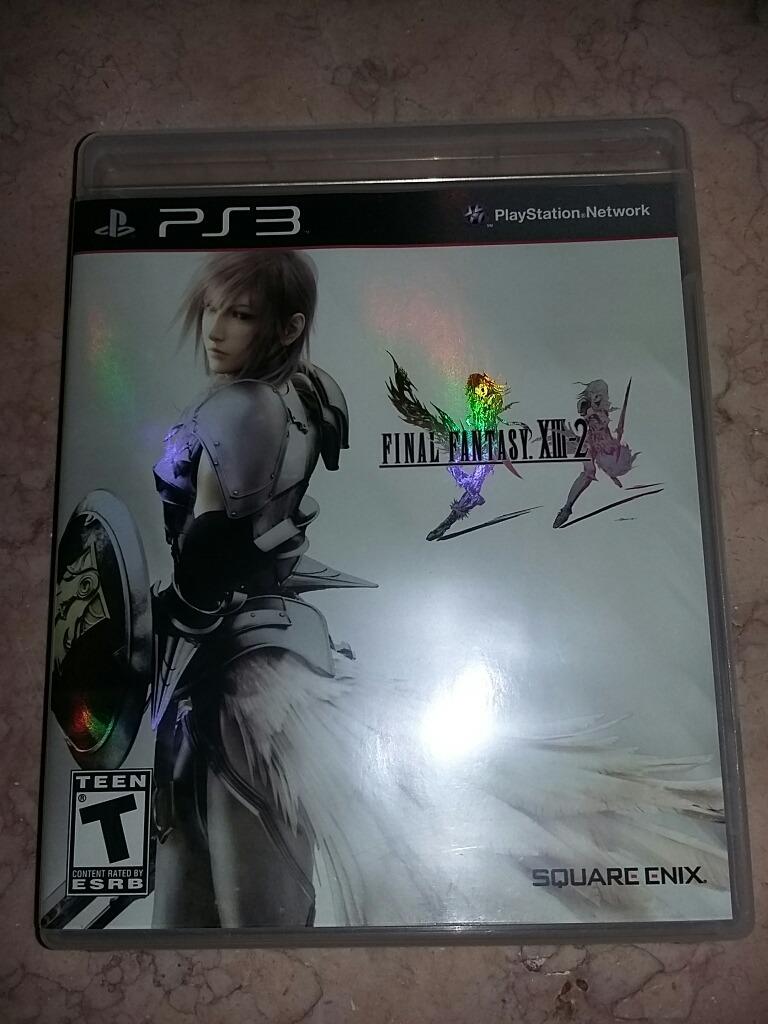 Final Fantasy Xiii-2 Treze Dois Ps3