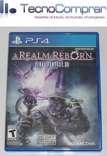 final fantasy xiv a realm reborn  (ps4 - usado)