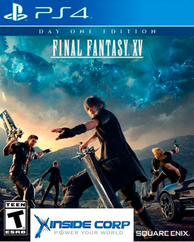 final fantasy xv 15 ps4 nuevo sellado