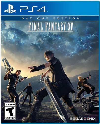 final fantasy xv: day one edition (sony playstation 4 ps4,