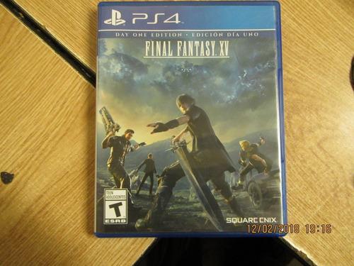 final fantasy xv- ps4