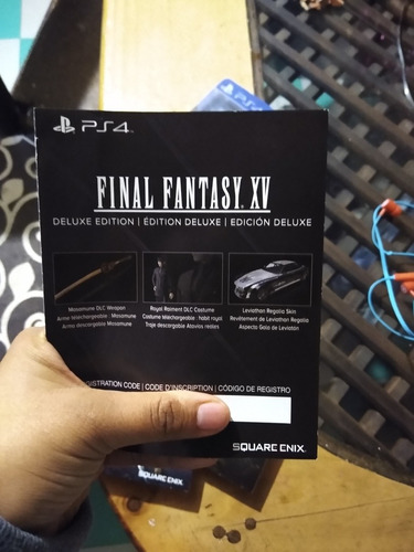 final fantasy xv / ps4