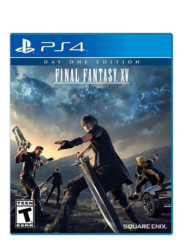 final fantasy xv ps4, disco, nuevo y sellado