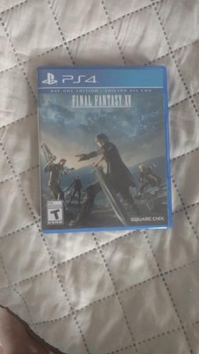 final fantasy xv ps4 (perfecto estado)