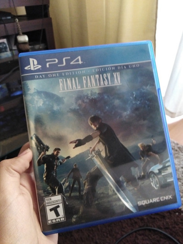 final fantasy xv ps4 (usado)