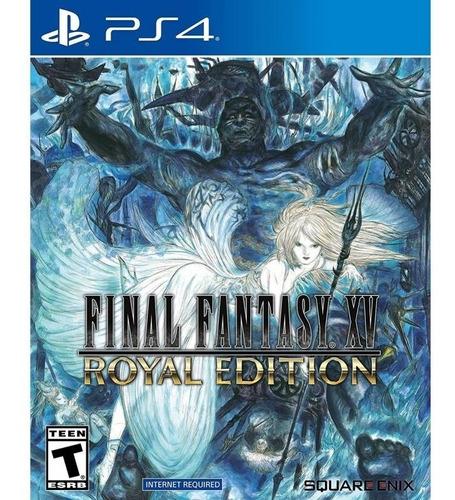 final fantasy xv royal edition - ps4 fisico nuevo & sellado