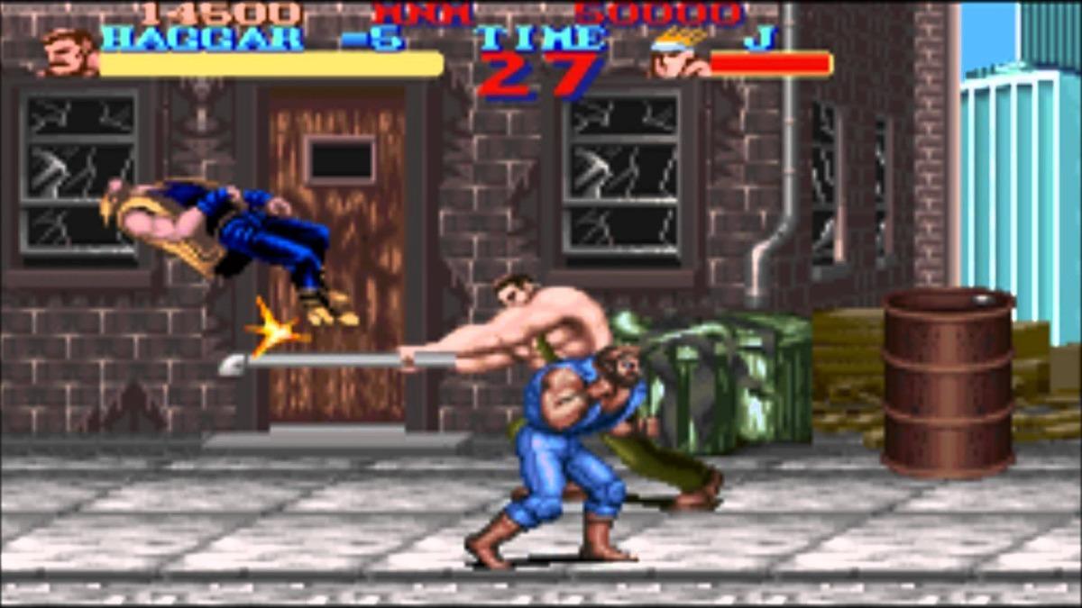 Final Fight, briga de rua nintendo