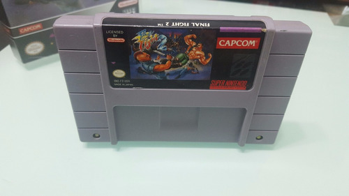 final fight 2 snes americano original