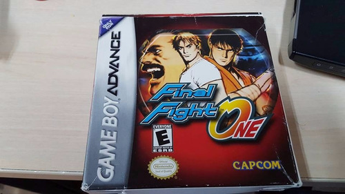 final fight one gameboy advance gba cib