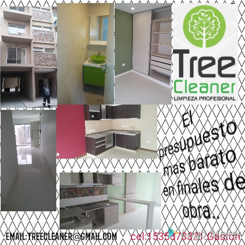 finales de obra..tree cleaner