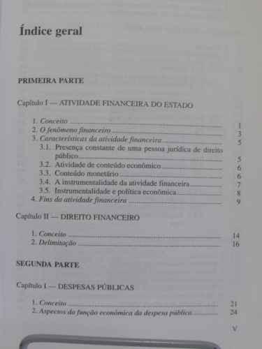 financeiro direito tributário livro direito