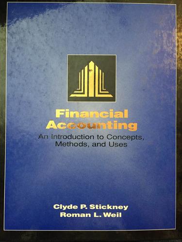 financial accouting. stickney. weil. 7° ed. en inglés