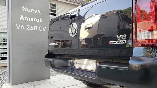 financio amarok v6 extreme 0km nueva anticipo 258cv vw