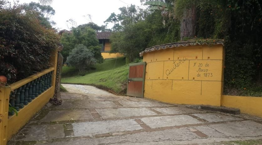 finca la ceja patrimonio arquitectonico  española rionegro