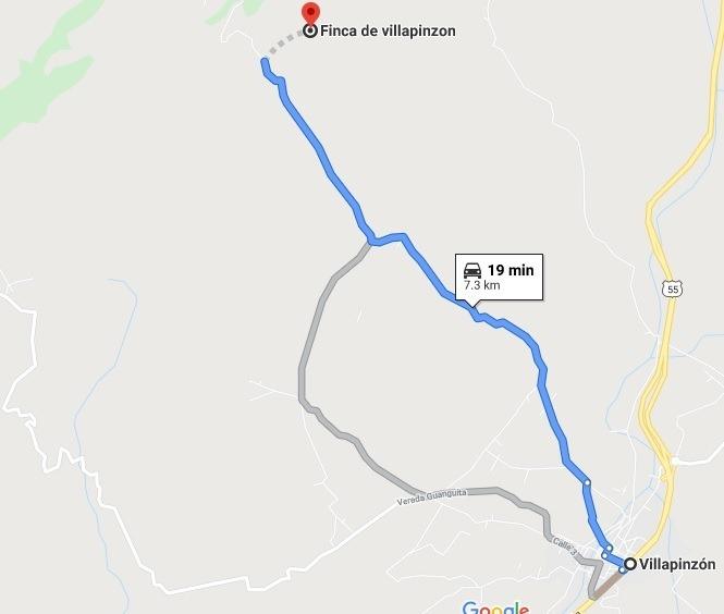 finca villa pinzon 73000 mt negociable