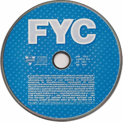 fine young cannibals i'm not the man i used to be cdsingle