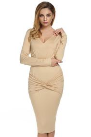 32aad523e2e8 For Ever 2 Vestidos Largos - Vestidos de Mujer Coral en Mercado ...