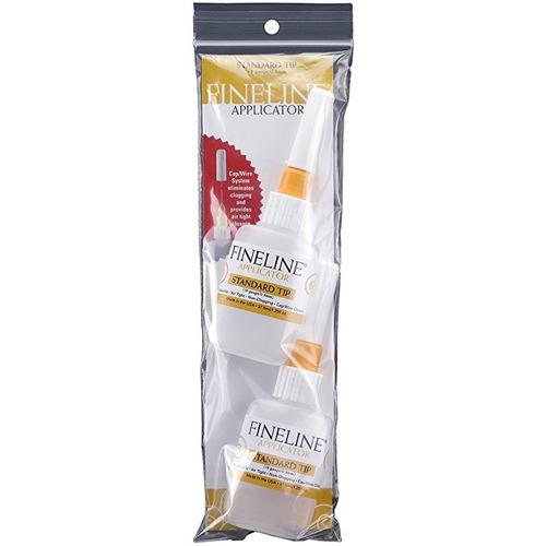 fineline aplicadores 2 / paquete botellas aplicador de calib