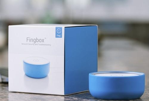 fingbox: sistema de seguridad de red monitoreo remoto